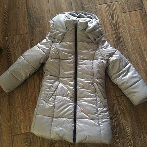 Calvin Klein puffy girls long jacket